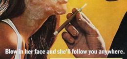 Dehşete düşüren 10 retro reklam afişi