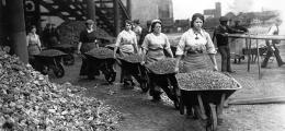 1.Dünya Savaşı sonrası kadın manzaraları