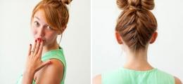 Saç için 10 değişik topuz modeli