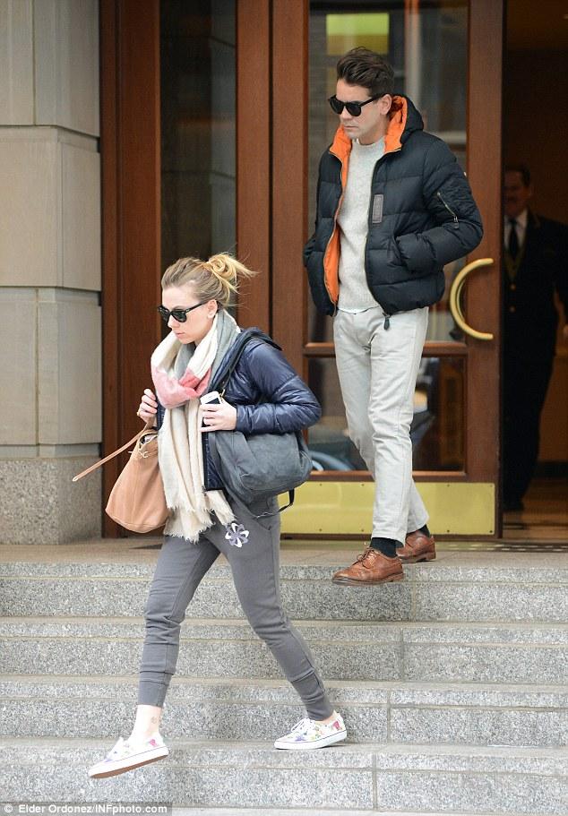 Scarlett Johansson Romain Dauric