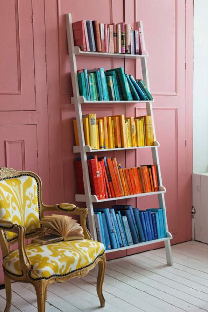 kitaplık dekorayon fikirleri