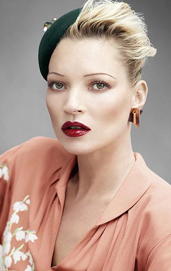 Kate Moss'un makyaj sırları