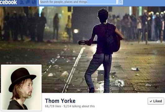thom yorke occupygezi
