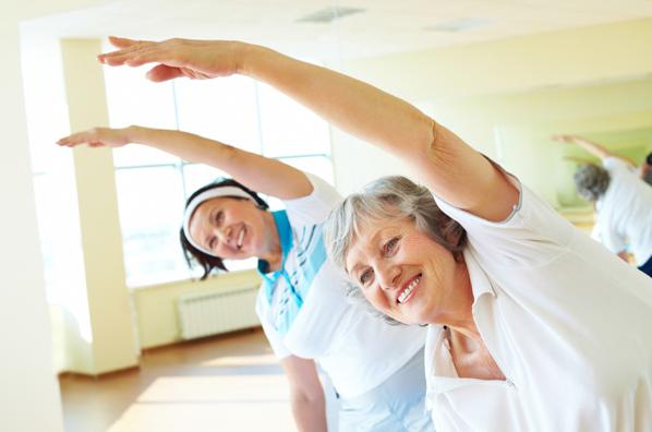 yaşlanmayı geciktirmek için egzersiz
