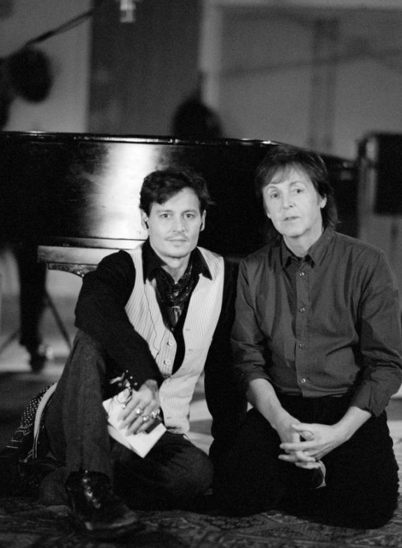 Johnny depp Paul McCartney