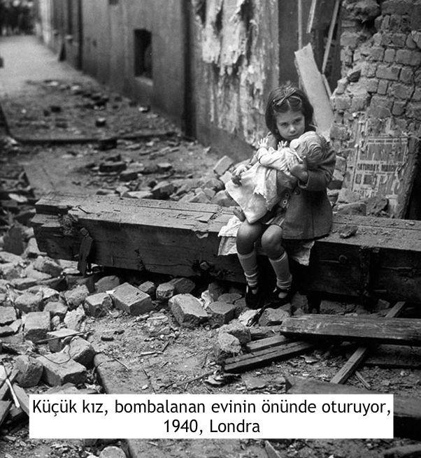 etkileyici fotoğraflar savaşta küçük kız