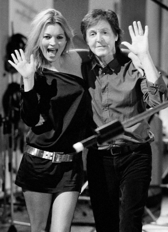Paul McCartney kate moss