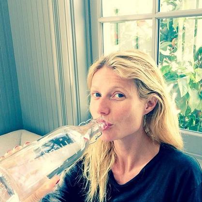gwyneth paltrow makyajsız selfie